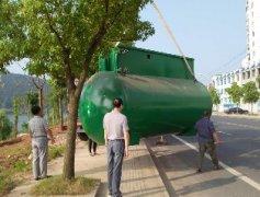 南京MBR污水设备设备发到货现场